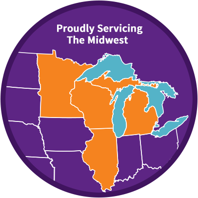 Proudly Serving the Midwest Wisconsin, Minnesota, Illinois and Michigan